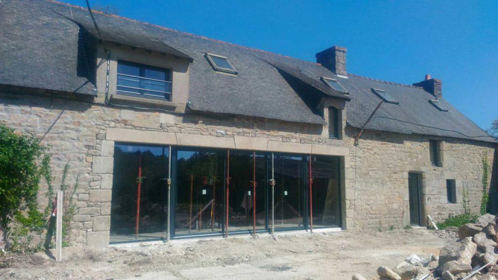 Rénovation extension maison individuelle Ploemeur - Cabinet Adélie Parat Architecture