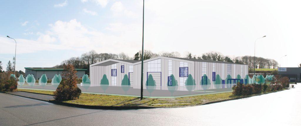 Bâtiment industriel - Cabinet Adélie Parat Architecture