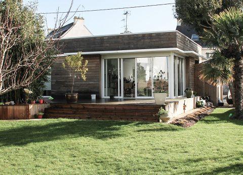 architecte lorient Rénovation extension maison individuelle